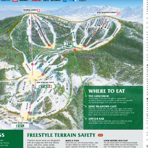 Thumbnail Image June Mountain - Winter Map