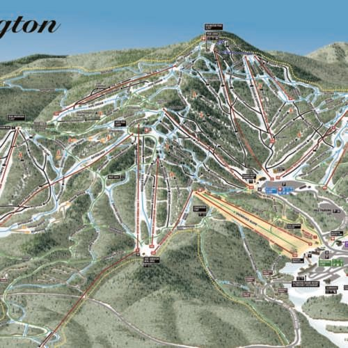 Thumbnail Image Killington - Winter Map
