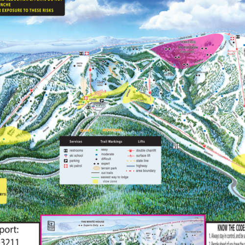 Thumbnail Image Lost Trail Powder Mountain - Winter Map