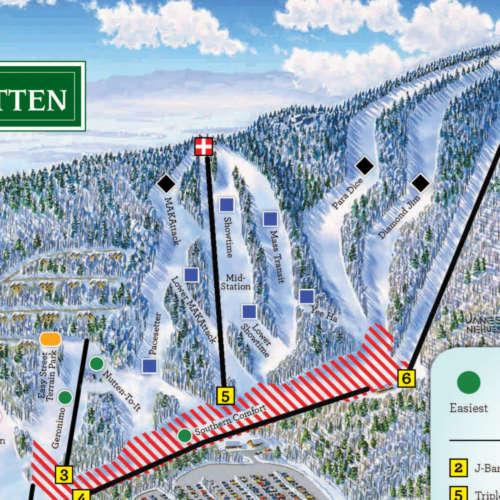 Thumbnail Image Massanutten - Winter Map