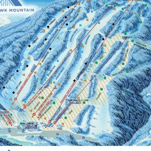 Thumbnail Image Mohawk Mountain - Winter Map