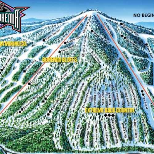 Thumbnail Image Mount Bohemia - Winter Map