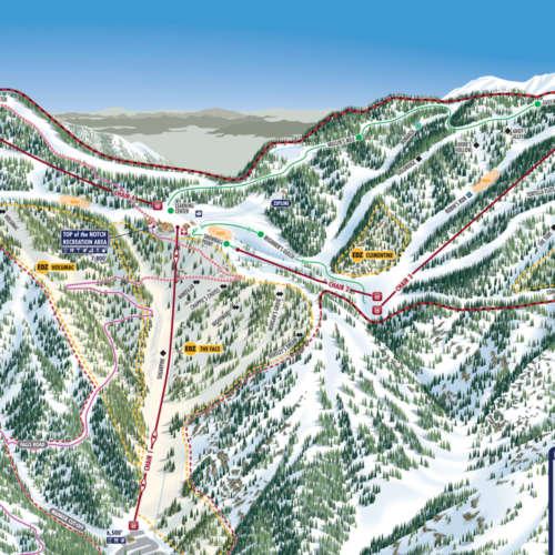 Thumbnail Image Mount Baldy - Winter Map