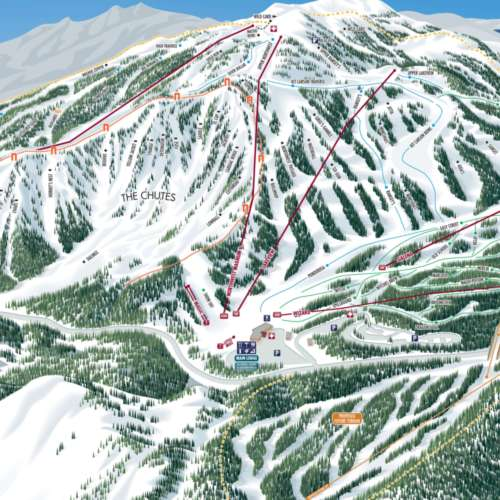 Thumbnail Image Mt. Rose Ski Tahoe - Winter Map