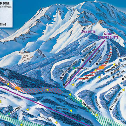 Thumbnail Image Mt Shasta Ski Park - Winter Map