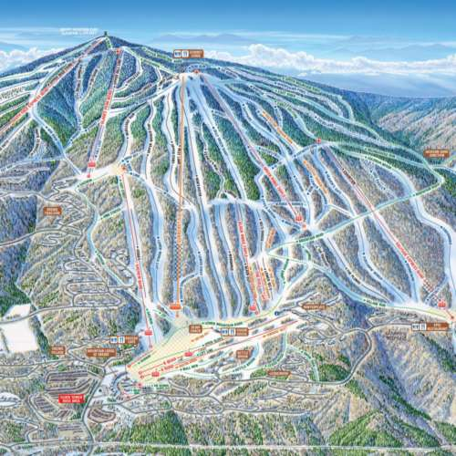Thumbnail Image Okemo - Winter Map