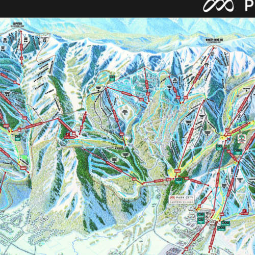Thumbnail Image Park City - Winter Map