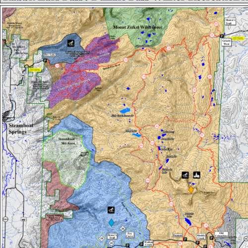 Thumbnail Image Rabbit Ears Pass - Rabbit Ears / Buffalo Pass Map