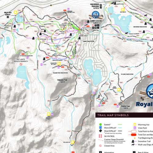 Thumbnail Image Royal Gorge Cross Country - Winter Map