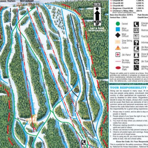 Thumbnail Image Sandia Peak - Winter Map