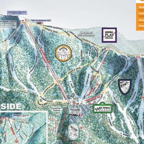 Thumbnail Image Sierra-at-Tahoe - Winter Map