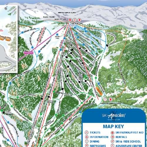 Thumbnail Image Ski Apache - Winter Map