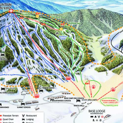Thumbnail Image Ski Granby Ranch - Winter Map