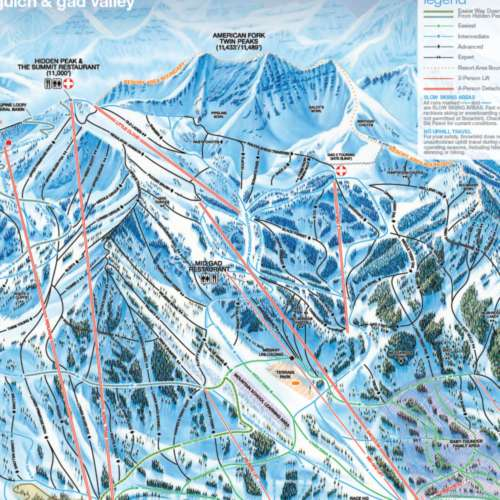 Thumbnail Image Snowbird - Peruvian Gulch & Gad Valley