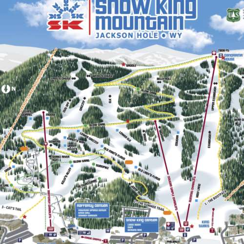 Thumbnail Image Snow King - Winter Map