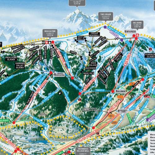 Thumbnail Image Snowmass - Winter Map