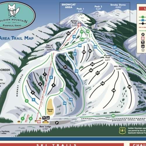 Thumbnail Image Soldier Mountain - Winter Map