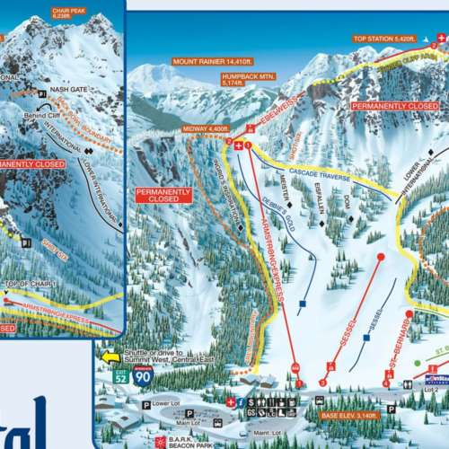 Thumbnail Image Summit at Snoqualmie Alpental - Winter Map