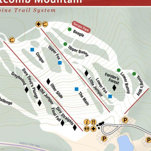 Thumbnail Image Titcomb Mountain - Winter Map