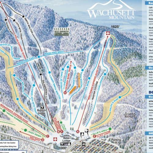 Thumbnail Image Wachusett - Winter Map