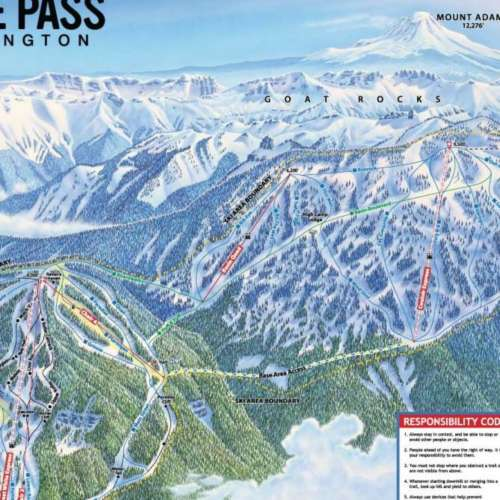 Thumbnail Image White Pass - Winter Map